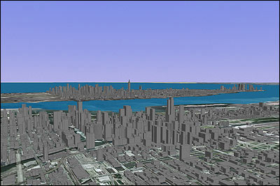 Chicago + Manhattan, 3-D