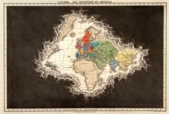1498 America Map