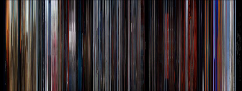 2001 Moviebarcode
