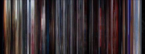 2001 Moviebarcode