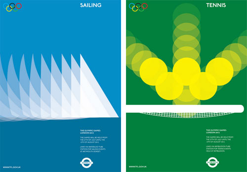2012 Olympic Posters