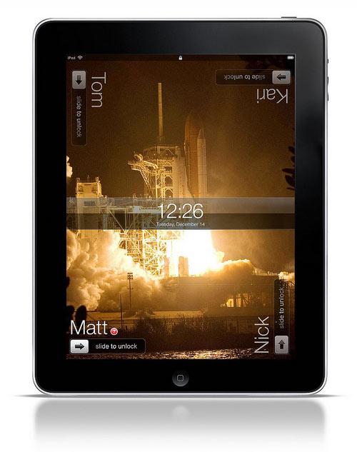multiuser iPad