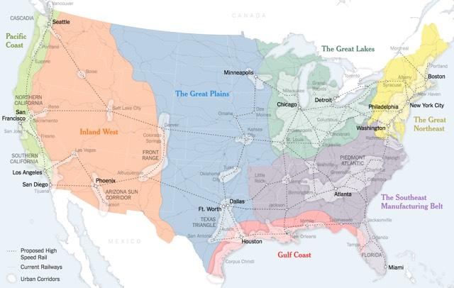 7 States Of America