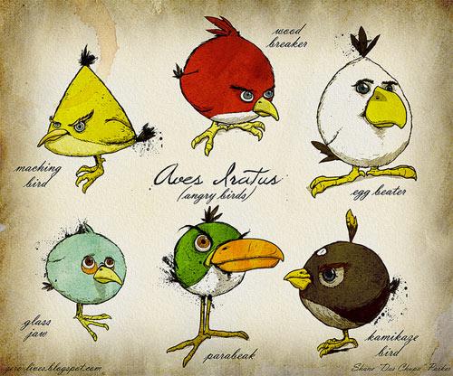Angry Birds Illo
