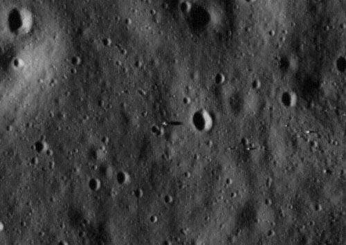 Apollo 11 LRO photo