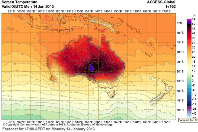 Aussie Weather Map
