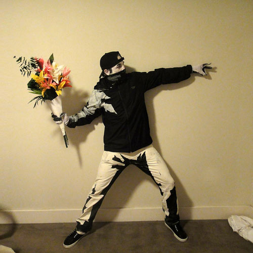 Banksy Halloween costume