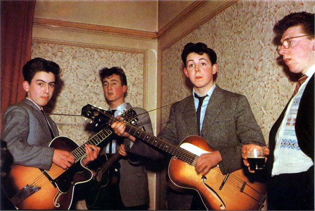 The Beatles in 1957