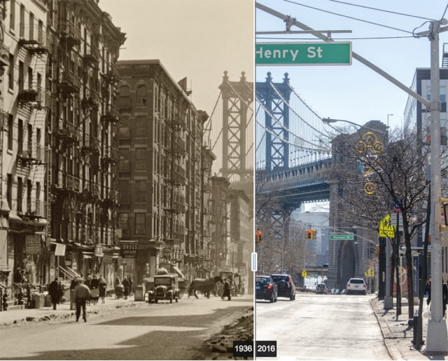 Berenice Abbott, Then and Now