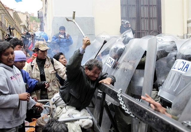 Bolivia Wheelchair Riots