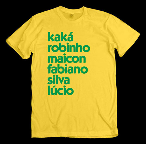 Brazil soccer shirt