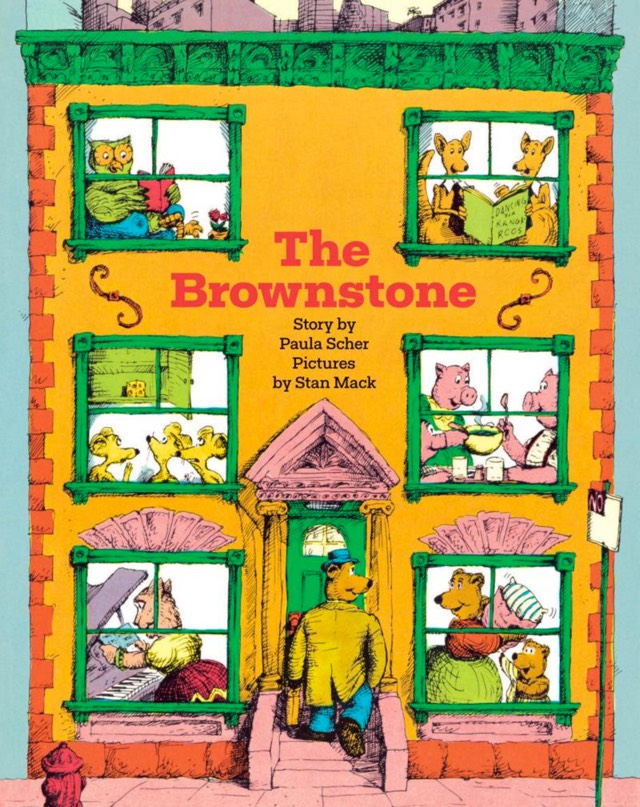 The Brownstone by Paula Scher