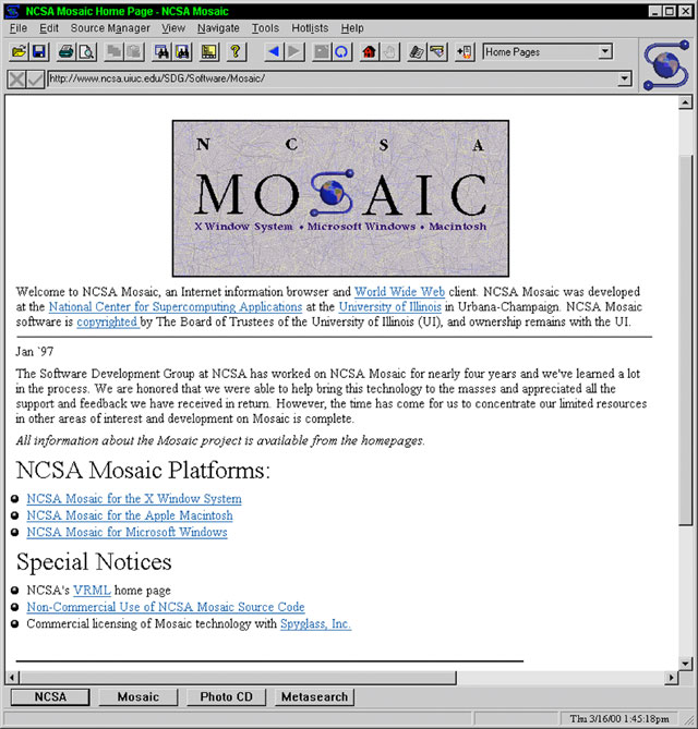 NCSA Mosaic