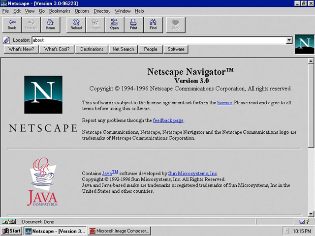 Netscape Navigator 3.0
