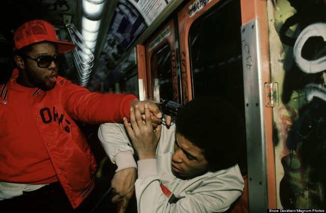 Bruce Davidson, Subway