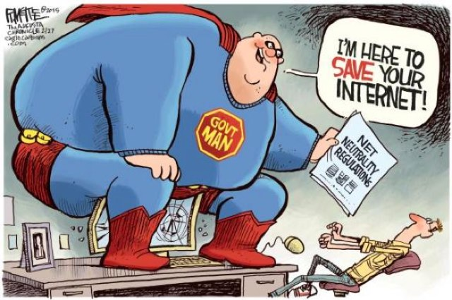 Cartoon Net Neutrality