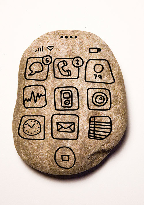 Caveman Phone