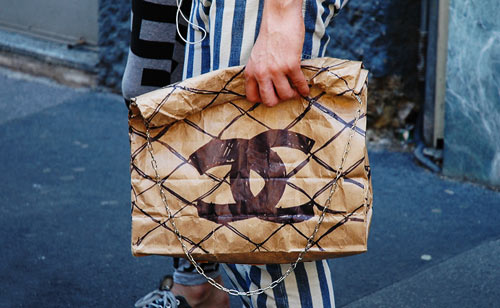 Chanel Paper Bag