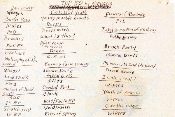Cobain Top 50