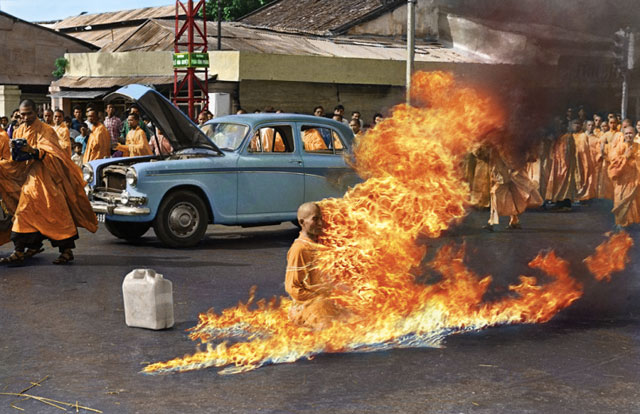 Colorized Thich Quang Duc