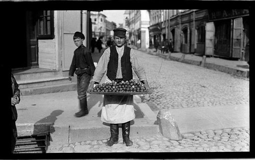 Cucumber seller