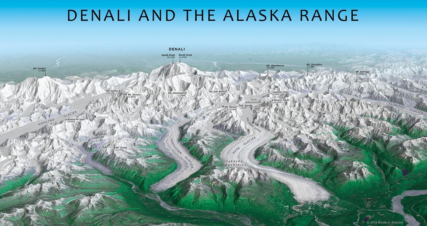 Denali Map