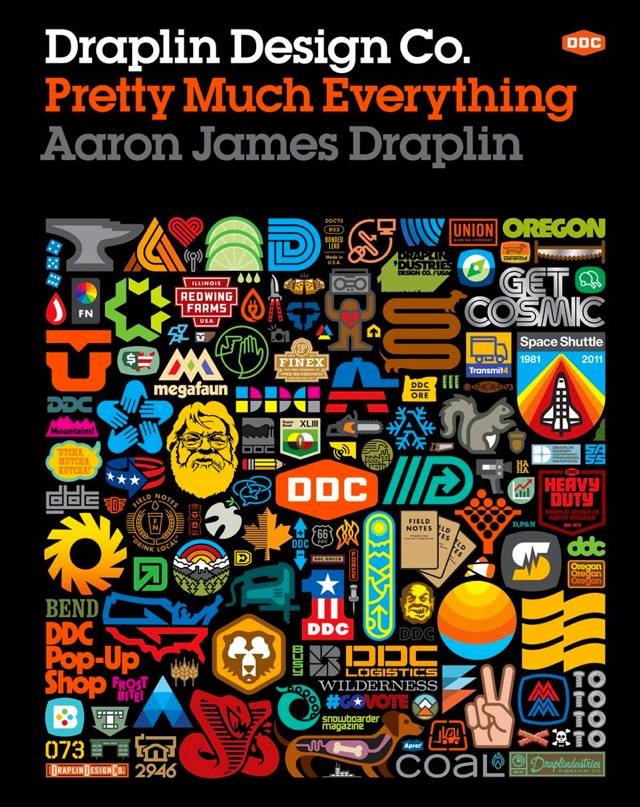 pretty much everything by aaron james draplin. Black Bedroom Furniture Sets. Home Design Ideas