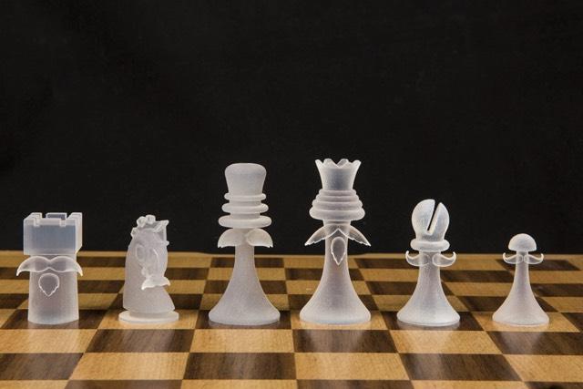 Duchamp Chess Mustache