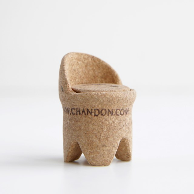 Champagne cork chair