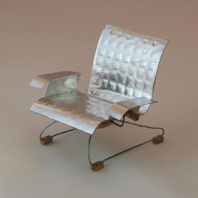 Champagne cork chair