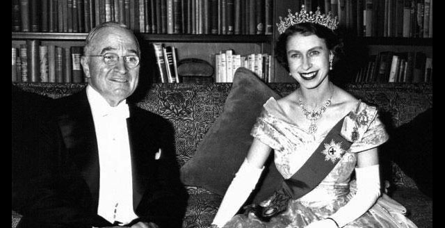 Elizabeth II with Truman