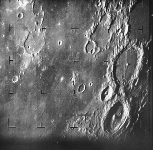 First Moon Photo