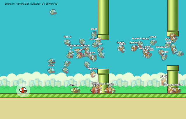 Flappy MMO