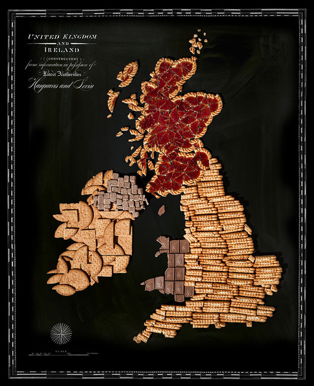 Food Map British Isles