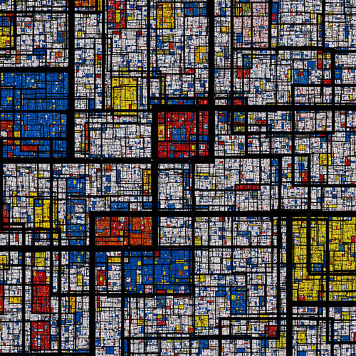 Fractal Mondrian