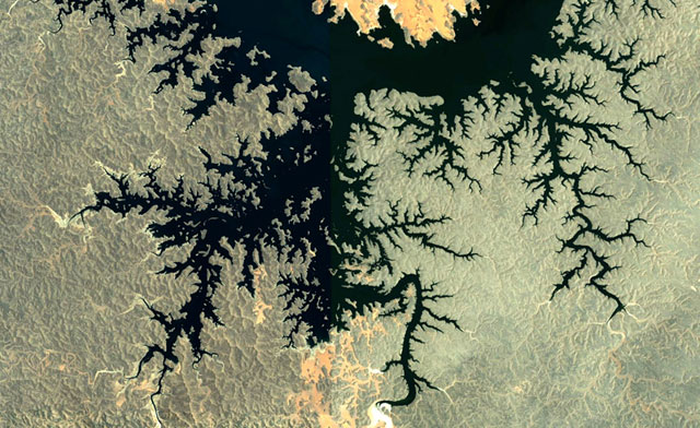 Google Earth Fractal