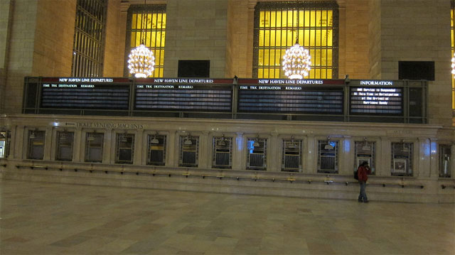 Grand Central Closed