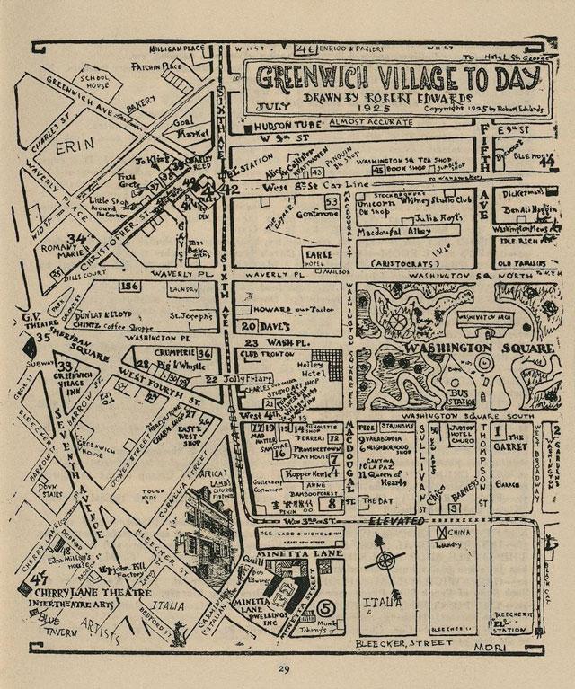 Greenwich Village 1925