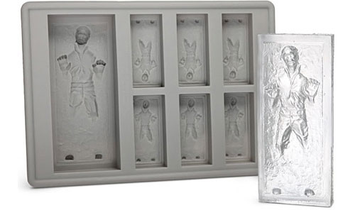 Han Solo ice tray