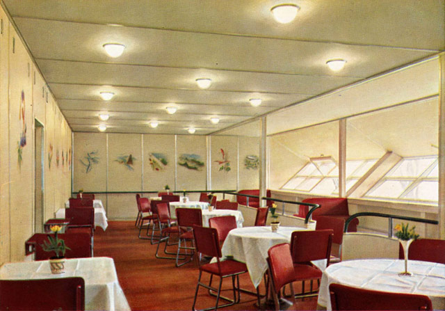 Hindenburg interiors