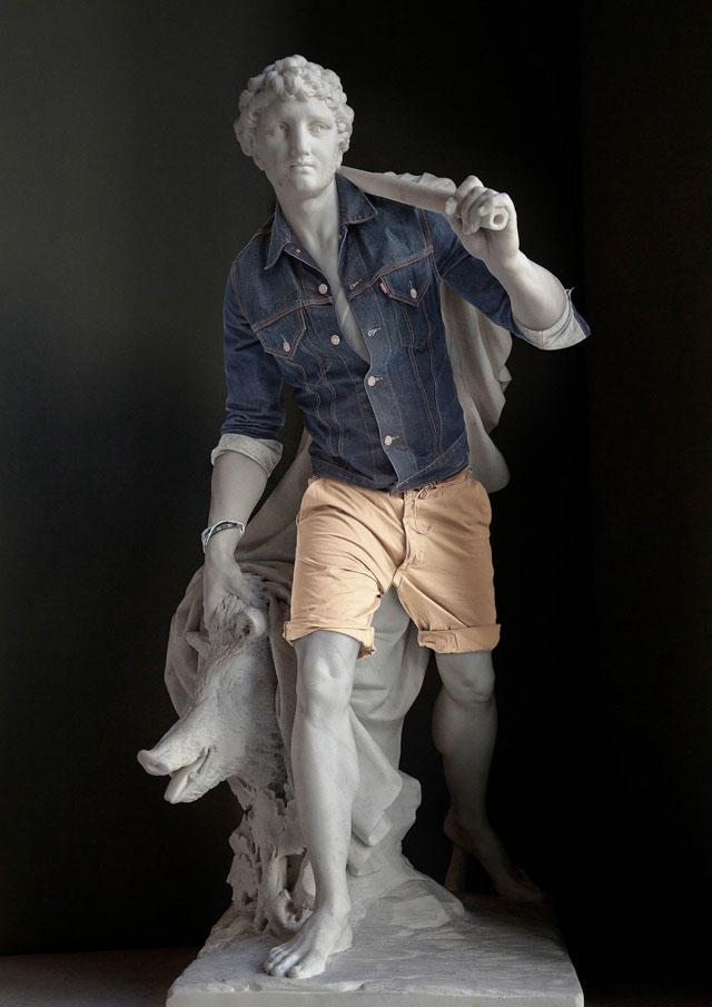 Hipster Statuary 02