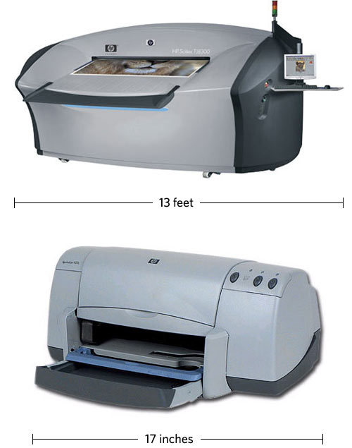 Huge HP printer