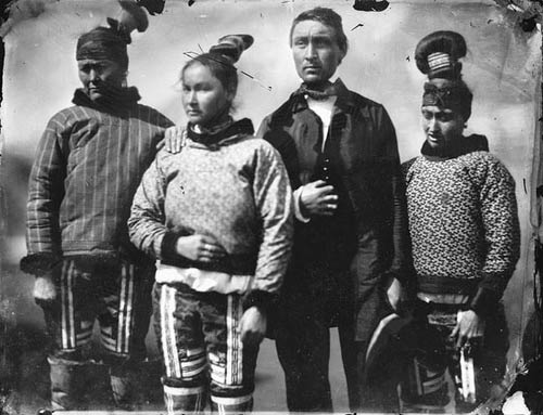 Inuit group, 1854