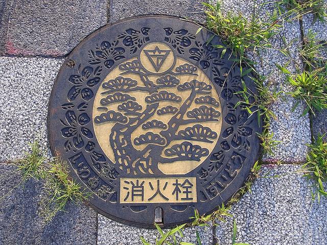 Japanese Manholes 01