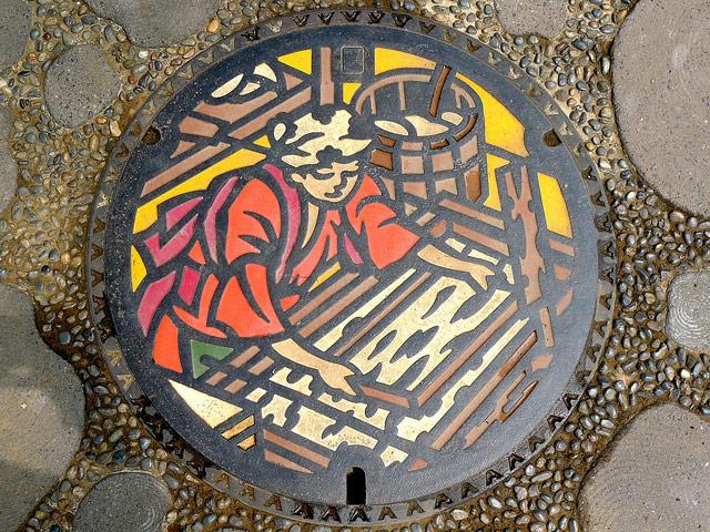 Japanese Manholes 02