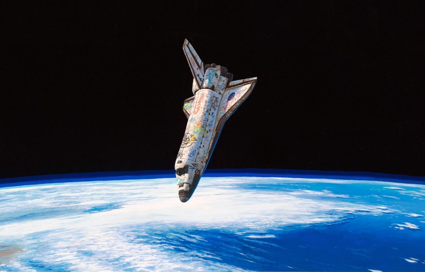 graffiti on space shuttle - photo #31