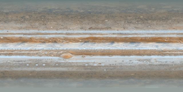 Jupiter Flat Map