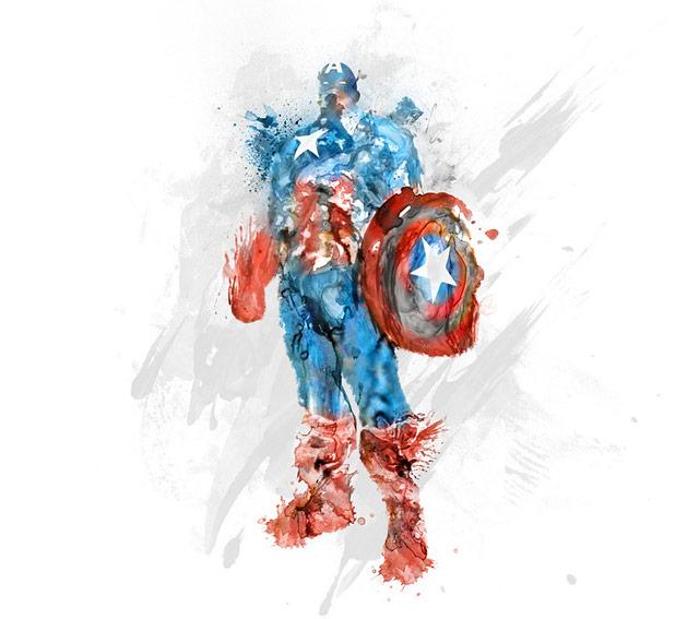 Kiec Capt America