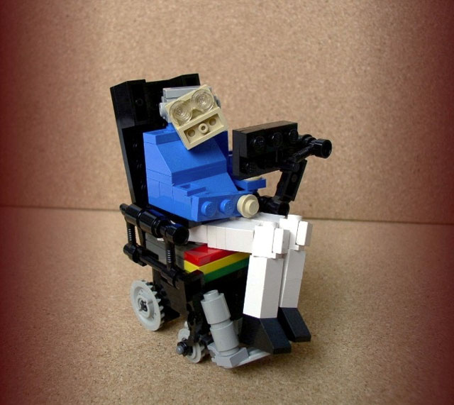 Lego Stephen Hawking