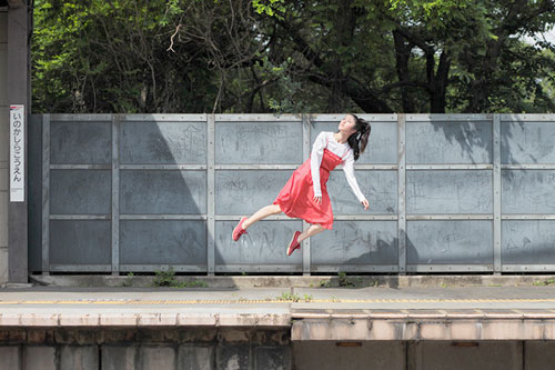 Levitating